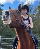 Using horses we work on confidence building, letting go of emotional stress, learning patience and compassion, handling anxiety, coping with depression and much more.